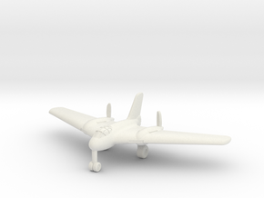 (1:200) Messerschmitt Me 329 (with gear) in White Natural Versatile Plastic