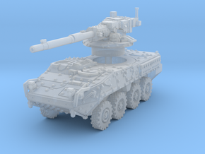 M1128 Stryker scale 1/87 in Smooth Fine Detail Plastic