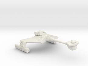 3788 Scale Romulan KRM Mauler Cruiser WEM in White Natural Versatile Plastic