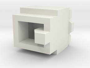 Alpha Trion Power Core in White Natural Versatile Plastic