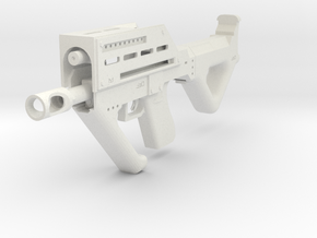 MP32PDW Carbine in White Natural Versatile Plastic