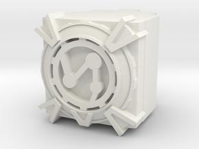 Vector Prime Power Core in White Natural Versatile Plastic