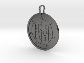 Alloces Medallion in Polished Nickel Steel