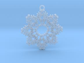 Ornamental pendant no.4 in Smooth Fine Detail Plastic