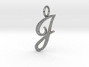 J (1/2 kaps crust bottom) in Natural Silver