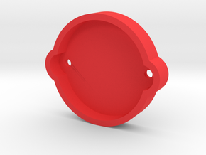Kyosho Big Brute Rear Motor Cover in Red Processed Versatile Plastic