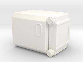 THM 00.0706 Bulk compressor right in White Processed Versatile Plastic