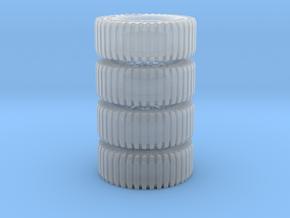All Terrain Wheels x4 #2 in Smooth Fine Detail Plastic