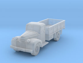 Dodge D15 (open) scale 1/192 in Smooth Fine Detail Plastic