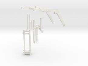 Stoll Frontlader Schwinge 1 Zylinder in White Natural Versatile Plastic