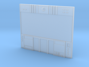 HO Scale Small Video Wall in Smooth Fine Detail Plastic