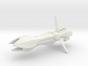 8472 Bio Ship in White Natural Versatile Plastic