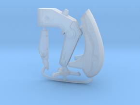 40k Tau Firesight Marksman Conversion Kit in Smooth Fine Detail Plastic: Small