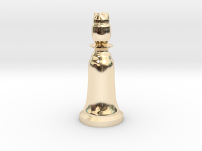 Queen Black - Bell Series in 14K Yellow Gold