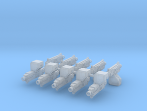 Mk29 Thunerbolters x10 #5 in Smooth Fine Detail Plastic