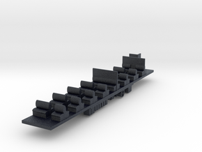 NTMC - VR Tait M Car Chassis in Black PA12