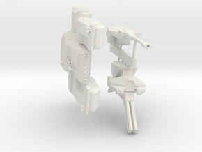 Scifi Marine Battle Tank Kit  in White Natural Versatile Plastic: 6mm