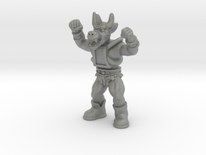 "Ygg/Minotaur - 1.75"" Figurine, multi-color in Gray PA12: d3"