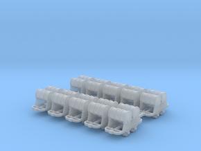 Benzinfaßlore(2Fässer) 10erSet - TTf 1:120 in Smooth Fine Detail Plastic