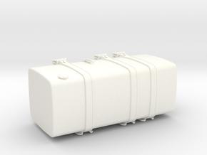THM 00.5103-118 Fuel tank Tamiya Volvo FH12 in White Processed Versatile Plastic