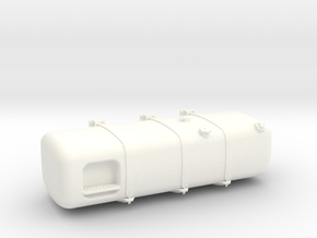 THM 00.3153-150 Fuel tank Tamiya Actros Lowliner in White Processed Versatile Plastic