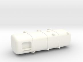THM 00.3153-150 Fuel tank Tamiya Actros Lowliner in White Processed Versatile Plastic