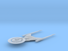 USS Discovery with plug / 6cm - 2.36in in Smooth Fine Detail Plastic