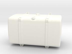 THM 00.4102-100 Fuel tank Tamiya Scania in White Processed Versatile Plastic