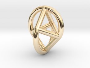 Oloicon in 14K Yellow Gold