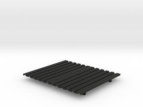 THM 01.1012 Platform small double in Black Natural Versatile Plastic