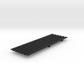THM 01.1013 Platform large asymmetrical in Black Natural Versatile Plastic
