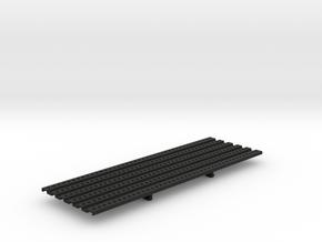 THM 01.1014 Platform large symmetrical in Black Natural Versatile Plastic