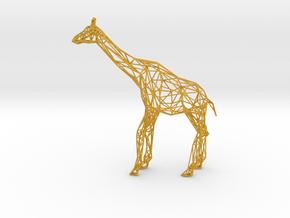 Wire Giraffe in Matte Full Color Sandstone