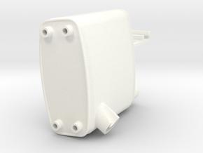 THM 00.2202 Exhaust Tamiya MAN in White Processed Versatile Plastic
