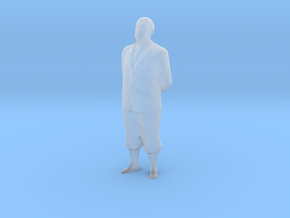 S Scale Old Man in Smooth Fine Detail Plastic