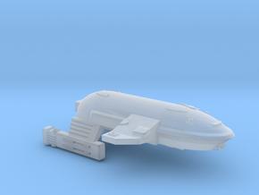 3788 Scale WYN Barracuda Frigate (FF) CVN in Smooth Fine Detail Plastic