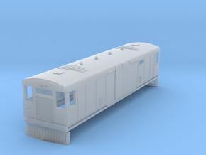 o-148fs-bermuda-railway-motor-van-100 in Smooth Fine Detail Plastic