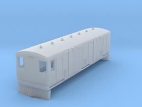 o-148fs-bermuda-railway-trailer-van-40 in Smooth Fine Detail Plastic