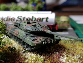 German Leopard 2 A7 MBT 1/144 in Smooth Fine Detail Plastic