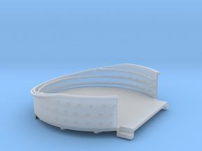 1/96 USN 40mm Quad Gun Tub Aft Superstructure Star in Smooth Fine Detail Plastic