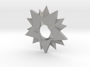 Ninja Star in Aluminum