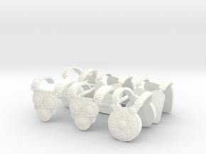 SAMNITE ARMORS  in White Processed Versatile Plastic
