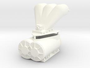 PSI Blower 1/12 in White Processed Versatile Plastic