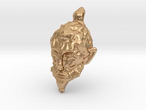 Sage - VR Sculpted Earrings - Buy Each Single in Natural Bronze