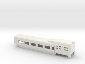 TGV Wagen b001 Scale TT in White Natural Versatile Plastic