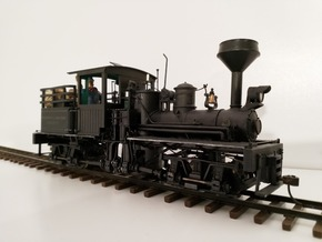 Diamond Spark Arrestor for Bachmann On30 Shay in Smooth Fine Detail Plastic