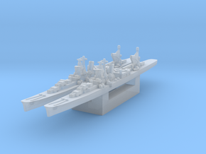 Agano cruiser 1/4800 x2 in Smooth Fine Detail Plastic