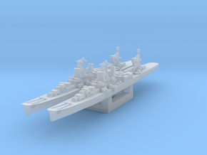 Agano cruiser x2 (Axis & Allies) in Smooth Fine Detail Plastic