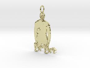 Creator Pendant in 18K Yellow Gold