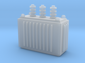 Electricity Transformer in Smooth Fine Detail Plastic